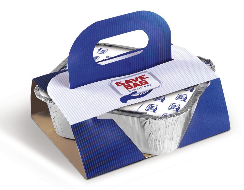 Con Save Bag porti a casa ciò che avanzi al ristorante