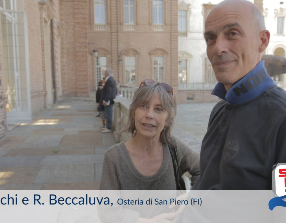 Elisabetta Nicchi e Roberto Beccaluva